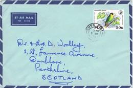 32797. Carta Aerea SUVA (Fiji Islands) 1973. Bird Stamp - Fiji (1970-...)