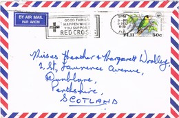 32798. Carta Aerea SUVA (Fiji Islands) 1979. Slogan RED CROSS. Cruz Roja - Fiji (1970-...)