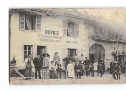 CPA 39 Genod Dupuis Restaurant Café Epicerie Mercerie - Frankrijk