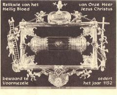 Ieper  Voormezele     Relikwie Van Het Heilig Bloed   1951 - Religion & Esotericism