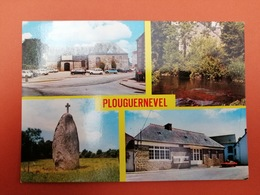 -Plouguernevel-Carte Multi Vues- - Francia