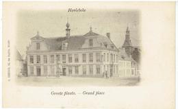 HARLEBEKE - Groote Plaats - Grand Place - Uitg. D. Hendrix, Anvers - Harelbeke