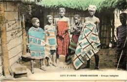 Côte D' Ivoire - Grand Bassam - Groupe Indigène - Ivory Coast