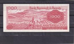 Rwana 1000 Fr 1976  AU - Ruanda