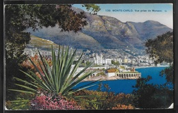 CPA MONACO - Monte-Carlo, Vue Prise De Monaco - LL - Monte-Carlo