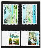 POL1869 DÄNEMARK - FÄRÖER 1991  Michl 219/22 ** Postfrisch SIEHE ABBILDUNG - Färöer Inseln