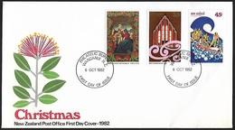 1982 - NEW ZEALAND - FDC + SG 1274/1276 + WANGANUI - FDC