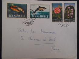 San Marin Lettre De 1967 Pour Plaisance De Touch - Lettres & Documents