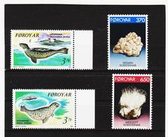 POL1871 DÄNEMARK - FÄRÖER 1992  Michl 235/38 ** Postfrisch SIEHE ABBILDUNG - Färöer Inseln