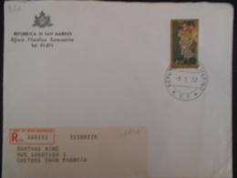 San Marin Lettre Recommandee De 1972 Pour Castres - Lettres & Documents
