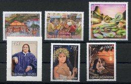 RC 12721 POLYNÉSIE N° 1013 / 1018 TIMBRES ÉMIS EN 2013 NEUF ** - Polynésie Française