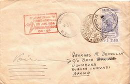 Postal History Cover: Brazil Sao Paulo Set On 4 Covers - Brazil