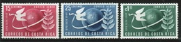 Costa Rica 1950 Set Of Stamps To Celebrate The 75th Anniversary Of The UPU. - Costa Rica