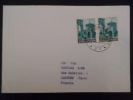 San Marin Lettre De 1966 Pour Castres - Lettres & Documents