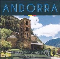ANDORRA - Set Divisionale 8 Monete FDC 2018 - Andorra