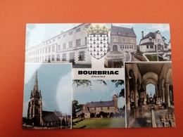-Bourbriac-Carte Multi Vues- - France