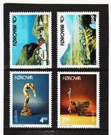 POL1874 DÄNEMARK - FÄRÖER 1993  Michl 246/49 ** Postfrisch SIEHE ABBILDUNG - Färöer Inseln