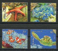 RC 12725 POLYNÉSIE N° 1029 / 1032 SÉRIE FAUNE MARINE NEUF ** - Polynésie Française