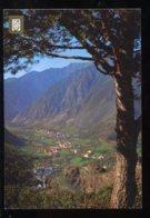 CPM Andorre VALLS D'ANDORRA Vista Général De Les Escaldes Andorra La Vella - Andorra