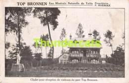 CPA NEDERBRAKEL TOP BRONNEN CHALET POUR RECEPTION DES VISITEURS DU PARC - Brakel