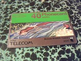 TELECARTE British Telecom   40 U Annèe ? Pays  R.U. Collection RSNC - Espace
