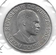 *guinea  25 Franc 1962 Km 7   Xf - Guinée