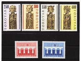 POL1842 DÄNEMARK - FÄRÖER 1984  Michl 93/98 ** Postfrisch SIEHE ABBILDUNG - Färöer Inseln
