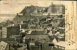 CPA - La Citadelle Et Le Château - Quebec