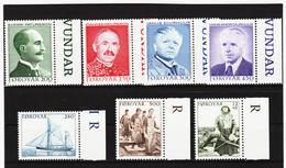 POL1843 DÄNEMARK - FÄRÖER 1984  Michl 99/05 ** Postfrisch SIEHE ABBILDUNG - Färöer Inseln