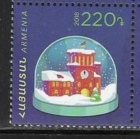 ARMENIA, 2018, MNH, CHRISTMAS, NEW YEAR,1v - Christmas