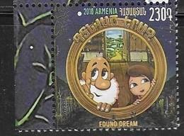 ARMENIA, 2018, MNH, CHILDREN'S PHILATELY, FOUND DREAM,1v - Childhood & Youth