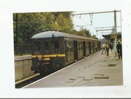 TRAIN SPECIAL COPEF EN GARE R E R DU VESINET -LE PECQ LE 16 SEPTEMBRE 1972 - Le Vésinet