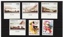 POL1844 DÄNEMARK - FÄRÖER 1985  Michl 112/17 ** Postfrisch SIEHE ABBILDUNG - Färöer Inseln
