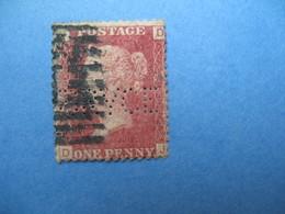 Perforé Perfin Lochung , Great Britain QV BRVCE  - Grande Bretagne Queen Victoria See, à Voir - Perfins