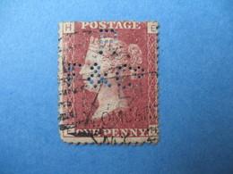 Perforé Perfin Lochung , Great Britain QV RF&C°  - Grande Bretagne Queen Victoria See, à Voir - Perfins