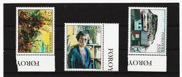 POL1845 DÄNEMARK - FÄRÖER 1985  Michl 118/20 ** Postfrisch SIEHE ABBILDUNG - Färöer Inseln