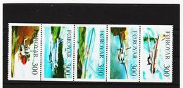 POL1846 DÄNEMARK - FÄRÖER 1985  Michl 125/29 ** Postfrisch SIEHE ABBILDUNG - Färöer Inseln