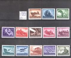 Allemagne Reich : N° 791/803 ** MNH Cote Yvert & Tellier 2006: 22,00 €. - Neufs