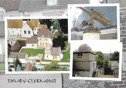 60 Thury Sous Clermont Divers Aspects (2 Scans) - Francia