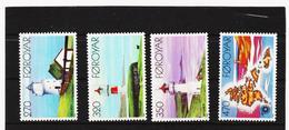 POL1847 DÄNEMARK - FÄRÖER 1985  Michl 121/24 ** Postfrisch SIEHE ABBILDUNG - Färöer Inseln