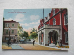 CPA POSTCARD V1915 Tarjeta Postal GIBRALTAR LAND THE CONVENT & SOUTH PORT STREET Le Couvent Editor VB. CUMBO Pad Tampon - Gibraltar