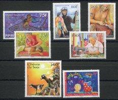 RC 12735 POLYNÉSIE N° 1078 / 1084 - TIMBRES ÉMIS EN 2014 / 2015 NEUF ** - Polynésie Française