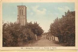 - Vendée -ref-E683- Bretignolles Sur Mer - Paysage à L Eglise - - Bretignolles Sur Mer