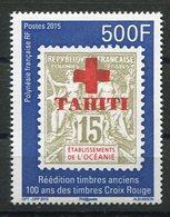 RC 12737 POLYNÉSIE N° 1094 - 500F CENTENAIRE DU TIMBRE CROIX ROUGE NEUF ** - Polynésie Française