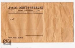 Enveloppe Jaren 1920 / Huis Achiel Denys - Schelpe / Ooststraat Roeselare / Geweefsels & Fourruren - Alte Papiere