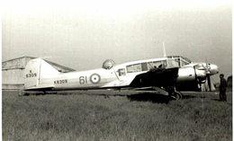 AVRO ANSON     14 * 9 CM  AEROPLANE - Aviation