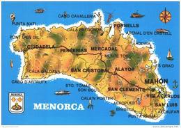 Landkarte / Map / Mapcard: Menorca (D-A211) - Maps