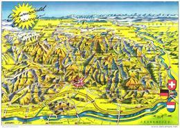 Landkarte / Map / Mapcard: Schwarzwald (D-A211) - Maps