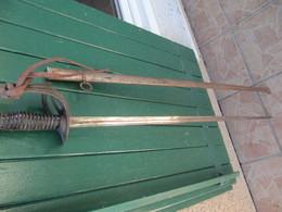 SABRE Et FOURREAU - Knives/Swords