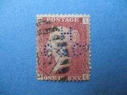 Perforé Perfin Lochung , Great Britain QV  HC&C°   - Grande Bretagne Queen Victoria See, à Voir - Perfins